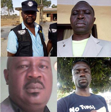 Four Nigeria policemen killed by kidnappers trying to rescue their colleagues
