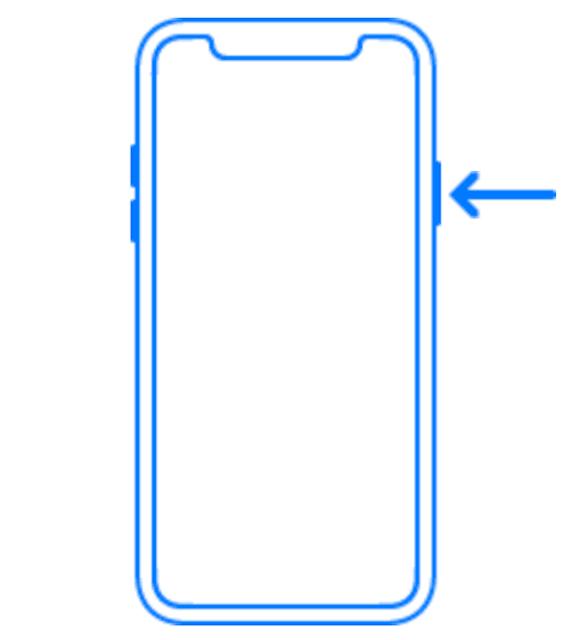 ايفون اكس الزر الجانبي iPhone X side button