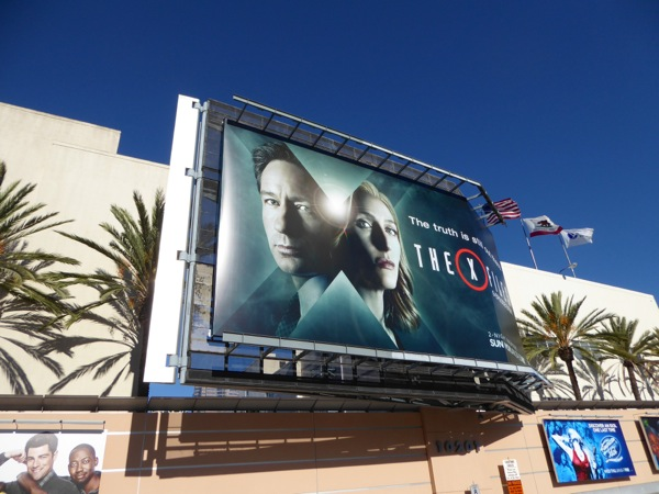 X-Files mini-series billboard