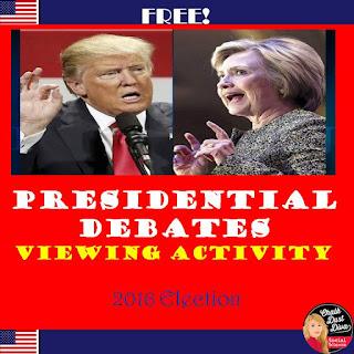 https://www.teacherspayteachers.com/Product/FREE-2016-Presidential-Debate-Analysis-ChartCivics-2802820