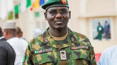 Lieutenant General Tukur  Buratai