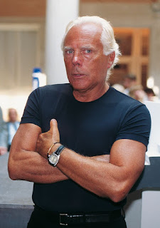 Giorgio Armani learned his trade working for Cerruti