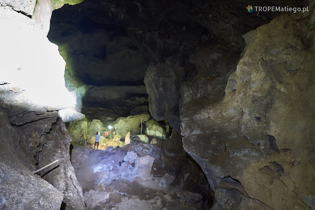 Inside the Tham Piew Cave, Laos