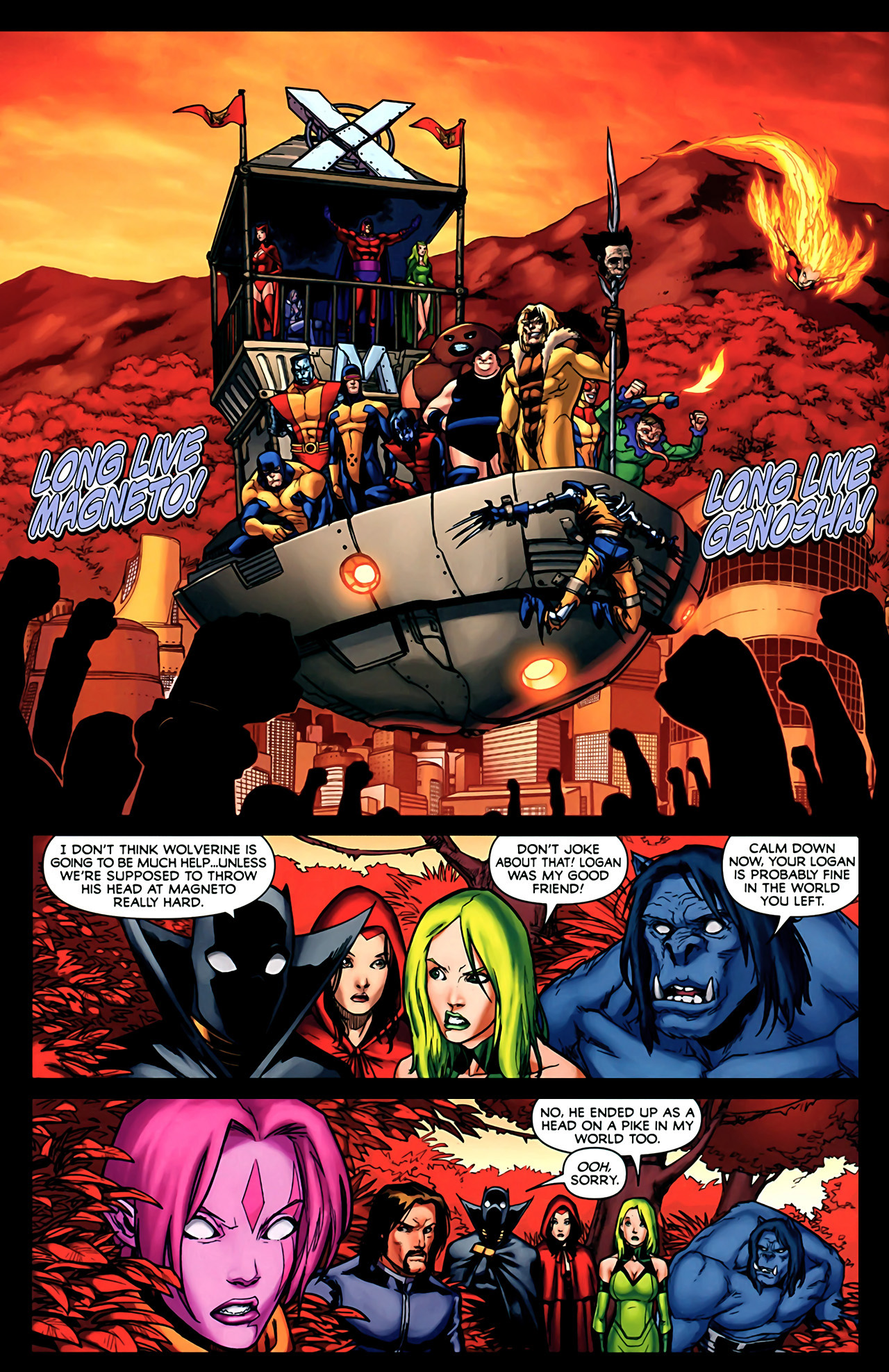 Read online Exiles (2009) comic -  Issue #2 - 3