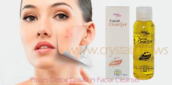 Proses Detox Collaskin Facial Cleanser