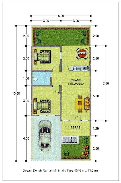 Rumah Minimalis LIS Rumah Minimalis 5 X 10 M