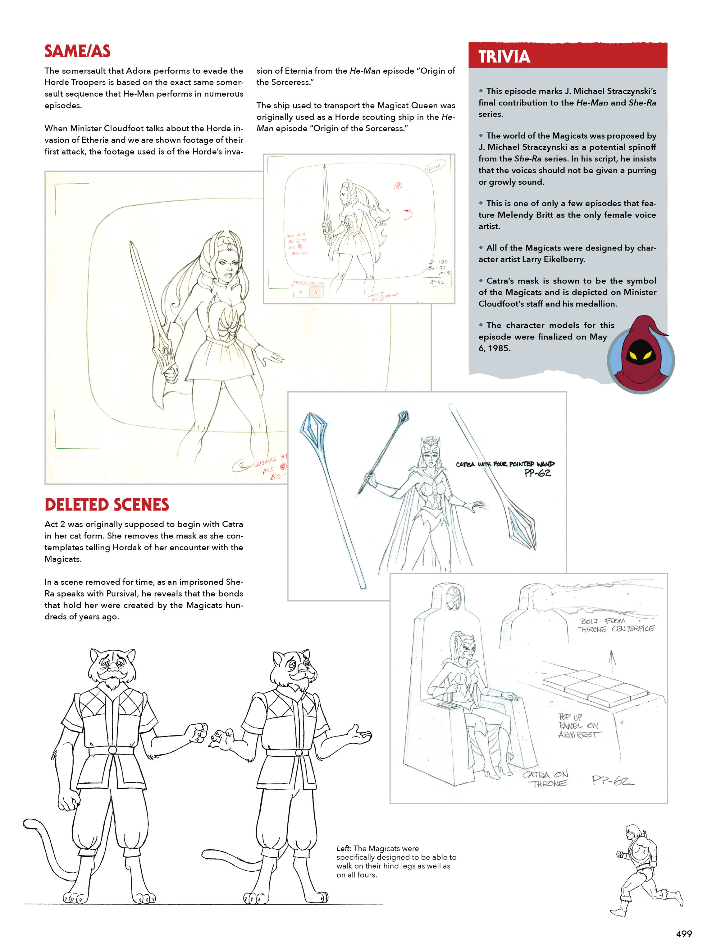 Read online He-Man and She-Ra: A Complete Guide to the Classic Animated Adventures comic -  Issue # TPB (Part 3) - 99