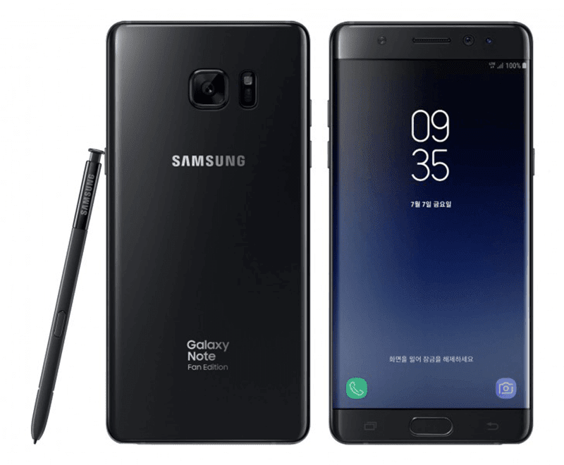 Samsung Launches Galaxy Note Fan Edition