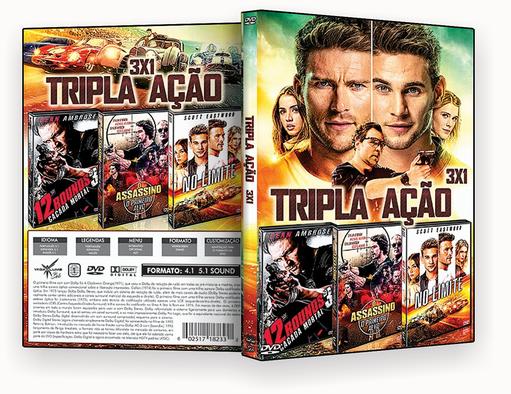 FILMES – Tripla Ação 3X1 – ISO