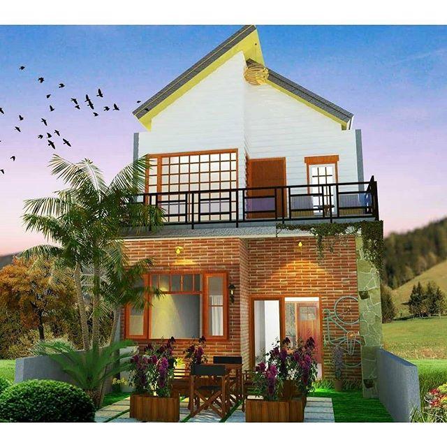 54 Gambar Denah Rumah Sederhana Elegan HD Terbaru