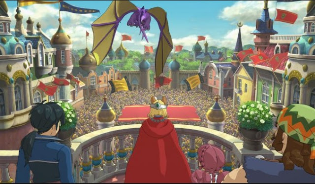 Reviewing The Ni No Kuni 2 :  Attractive Scene But Breezy Action JRPG