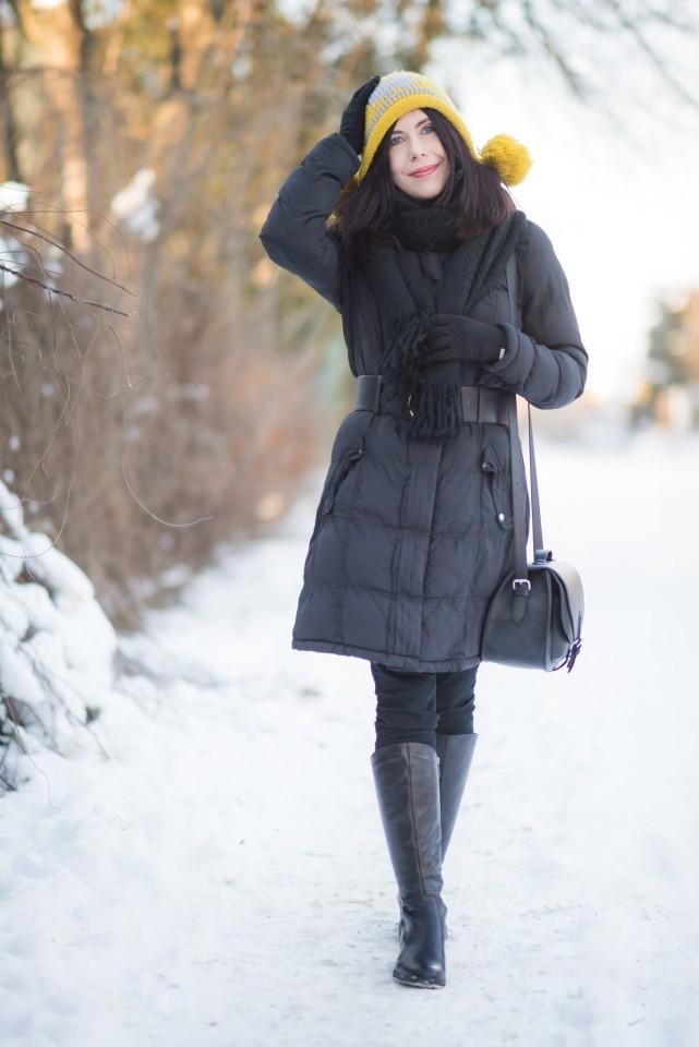 zimowa-stylizacja-z-puchową-kurtką