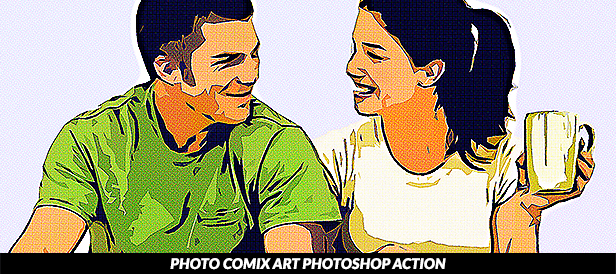 Impression Photoshop Action