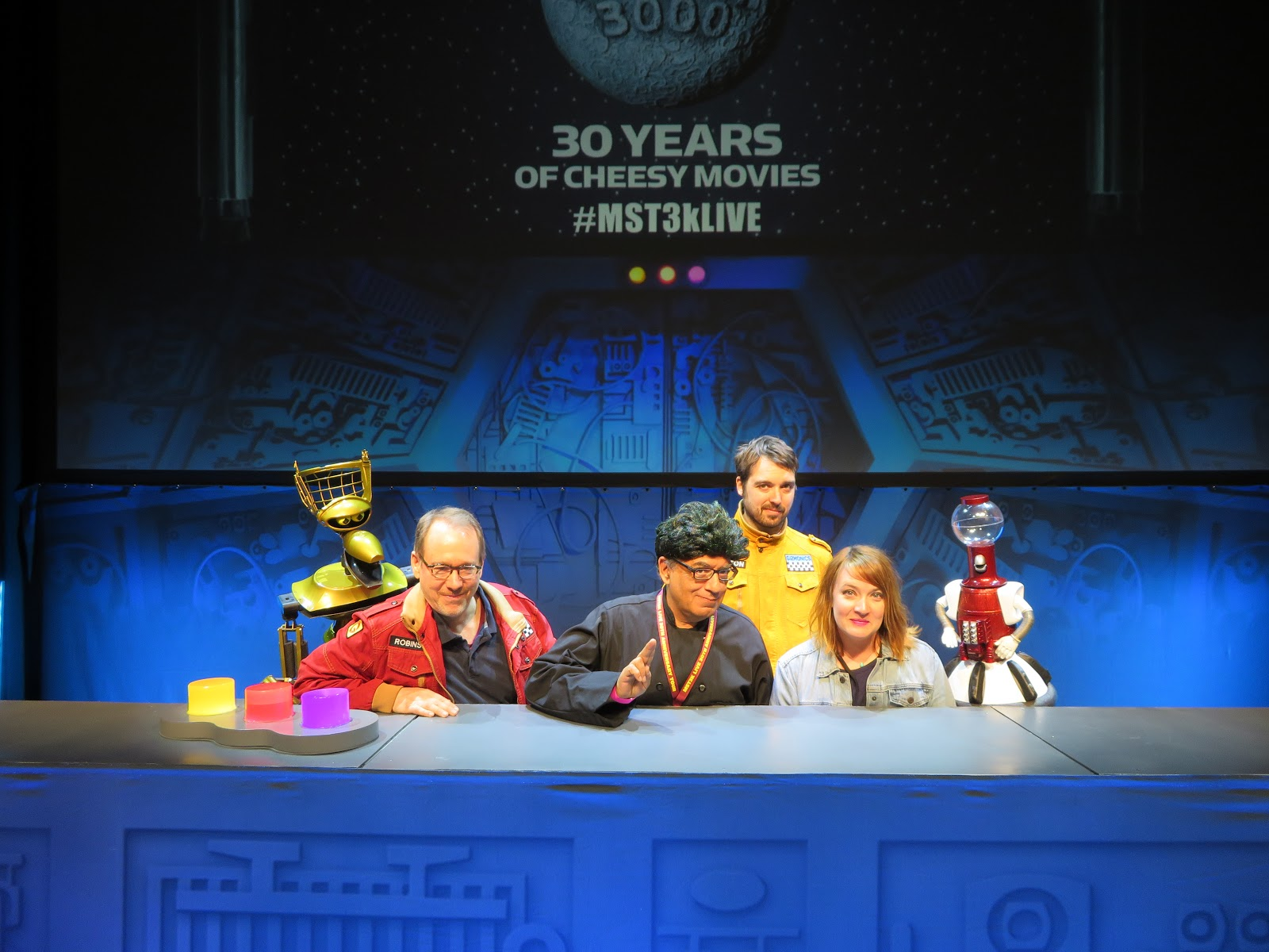 The Notorious I G Mst3k Live In San Francisco It S The Brain Game