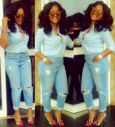 mercy aigbe fashion disaster