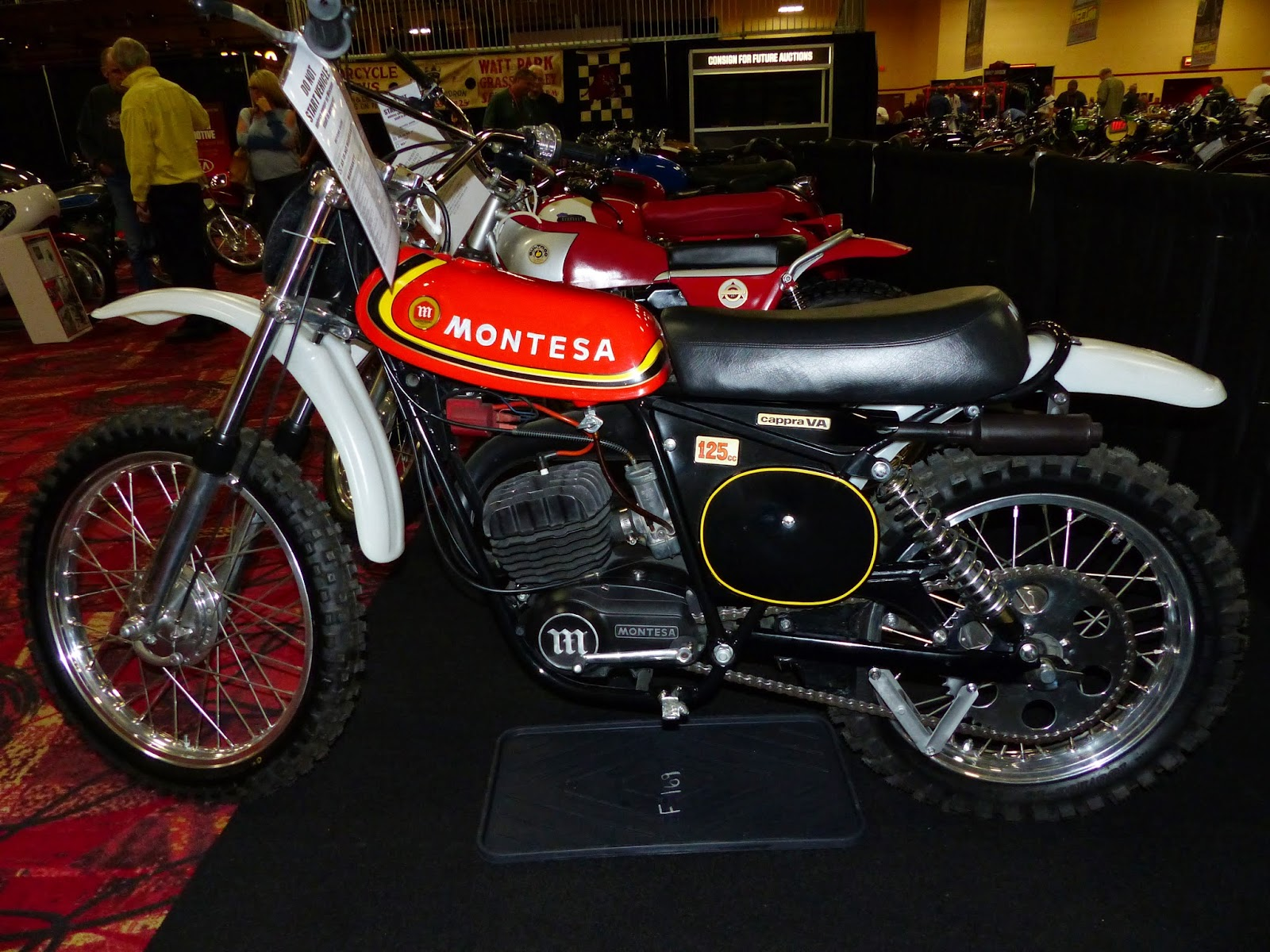 oldmotodude 1976 montesa cappra 125 mx for sale at the. Black Bedroom Furniture Sets. Home Design Ideas