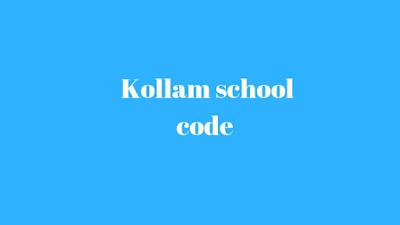 Kollam School Code