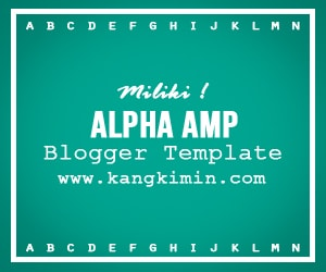 Alpha AMP Blogger Template