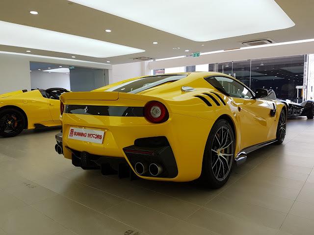 2016 Ferrari F12 Tdf For Sale At Sunning Motors Limited Ferrari
