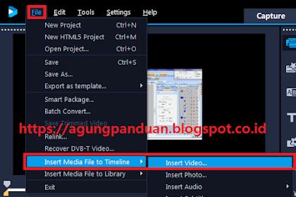 PANDUAN COREL VIDEO STUDIO ULTIMATE 2018 PART 1