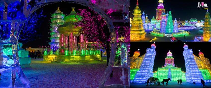 Cina: Harbin Ice Festival
