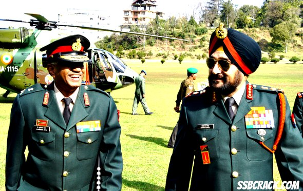 What is PC in Indian Army?