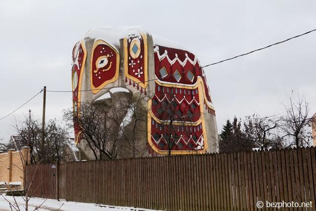 дом слон фото