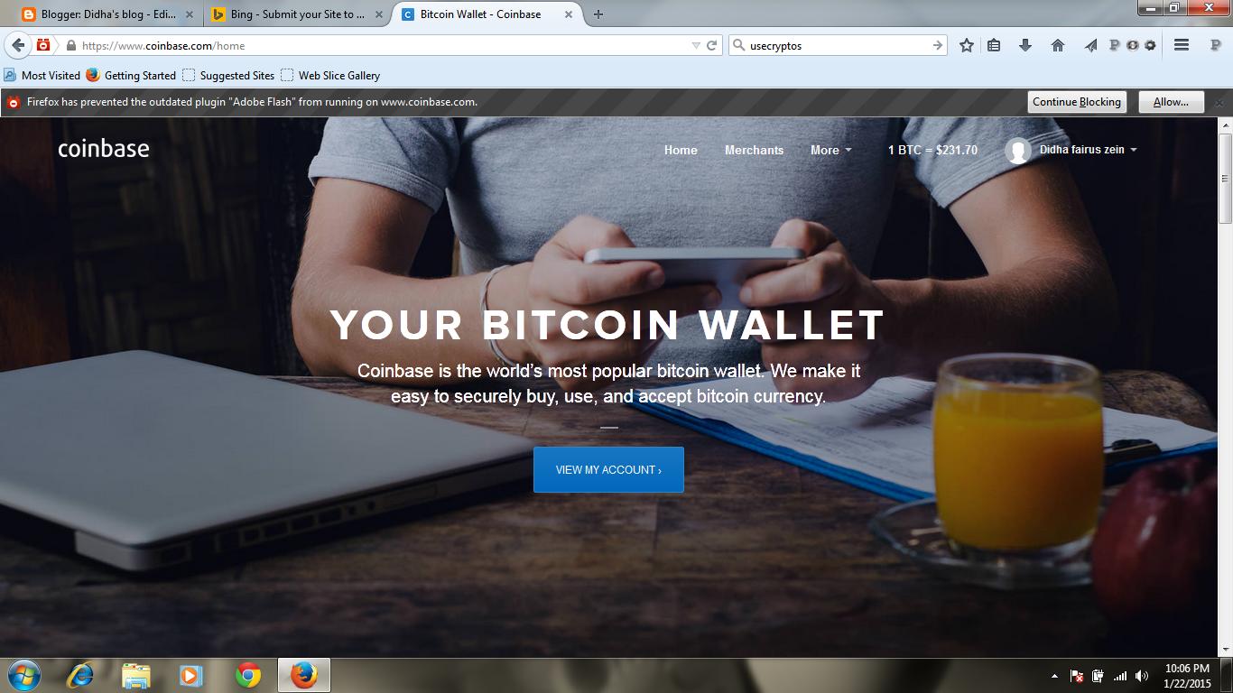 bitcoin GRATIS dari coinbase