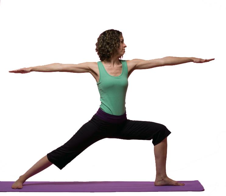 Harmony Yoga of Ann Arbor: Virabhadrasana II -- Warrior 2 Pose  Warrior 2 Pose