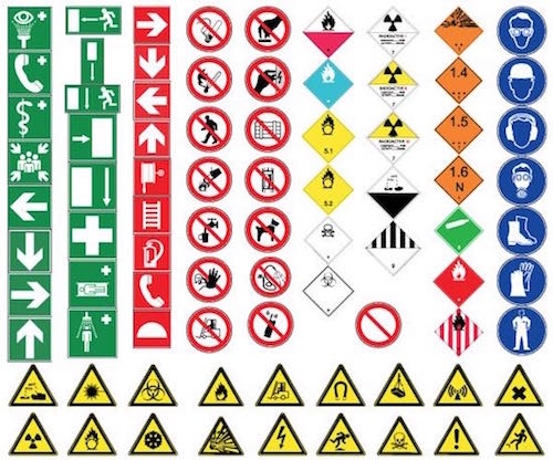 Safety Risks Health And Safety Signs
