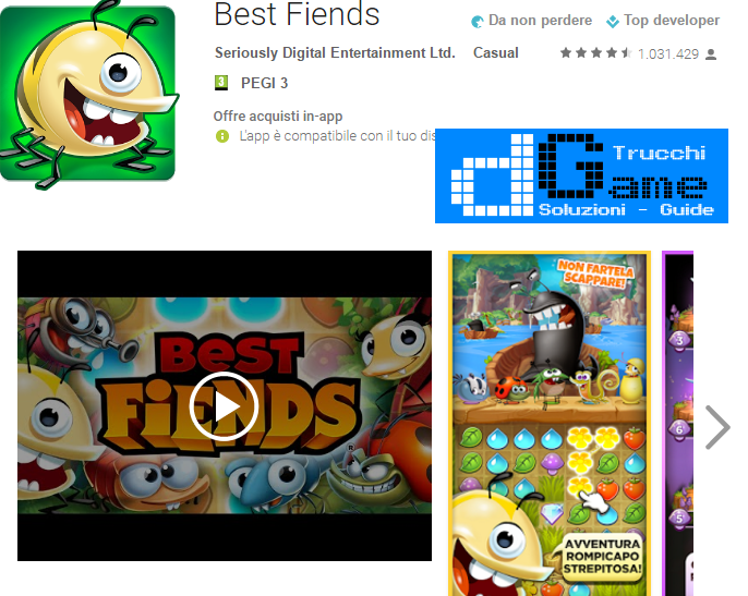 Trucchi Best Fiends Mod Apk Android