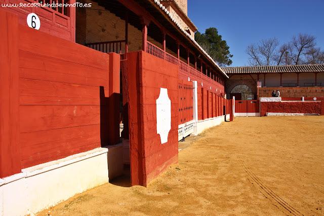 Burladero Plaza de Toros Cuadrada de Las Virtudes