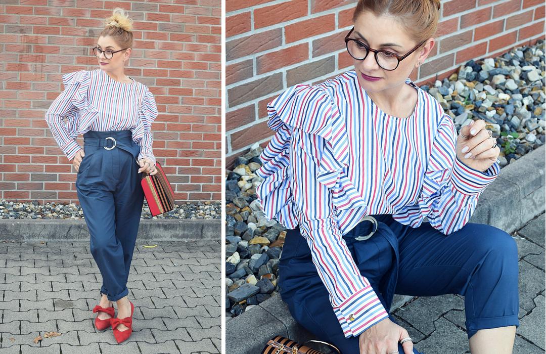 rote Schuhe mit Schleife, Modeblog, Fashionblogger