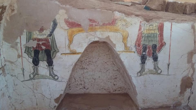 Roman tombs discovered in Egypt's Dakhla Oasis