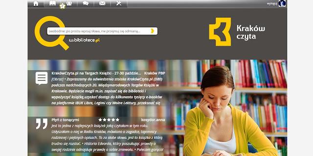 w.bibliotece portal krakowczyta