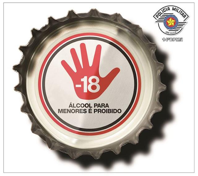 DAR BEBIDA ALCOÓLICA PARA MENOR É CRIME! SAIBA COMO DENUNCIAR