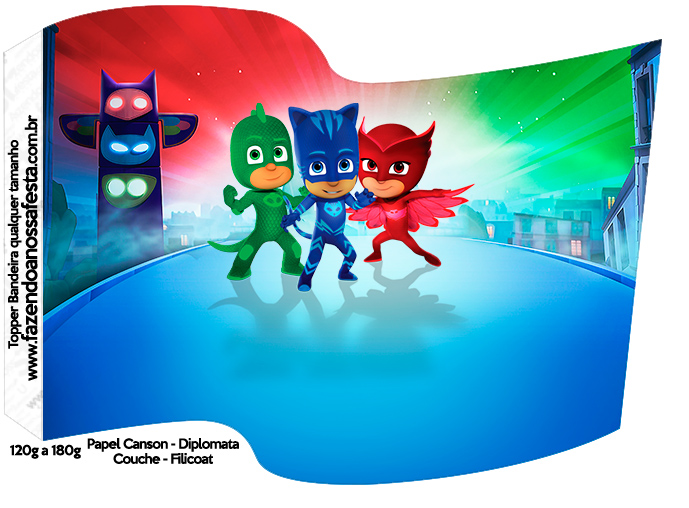 Pj Masks Free Party Printables Oh My Fiesta In English