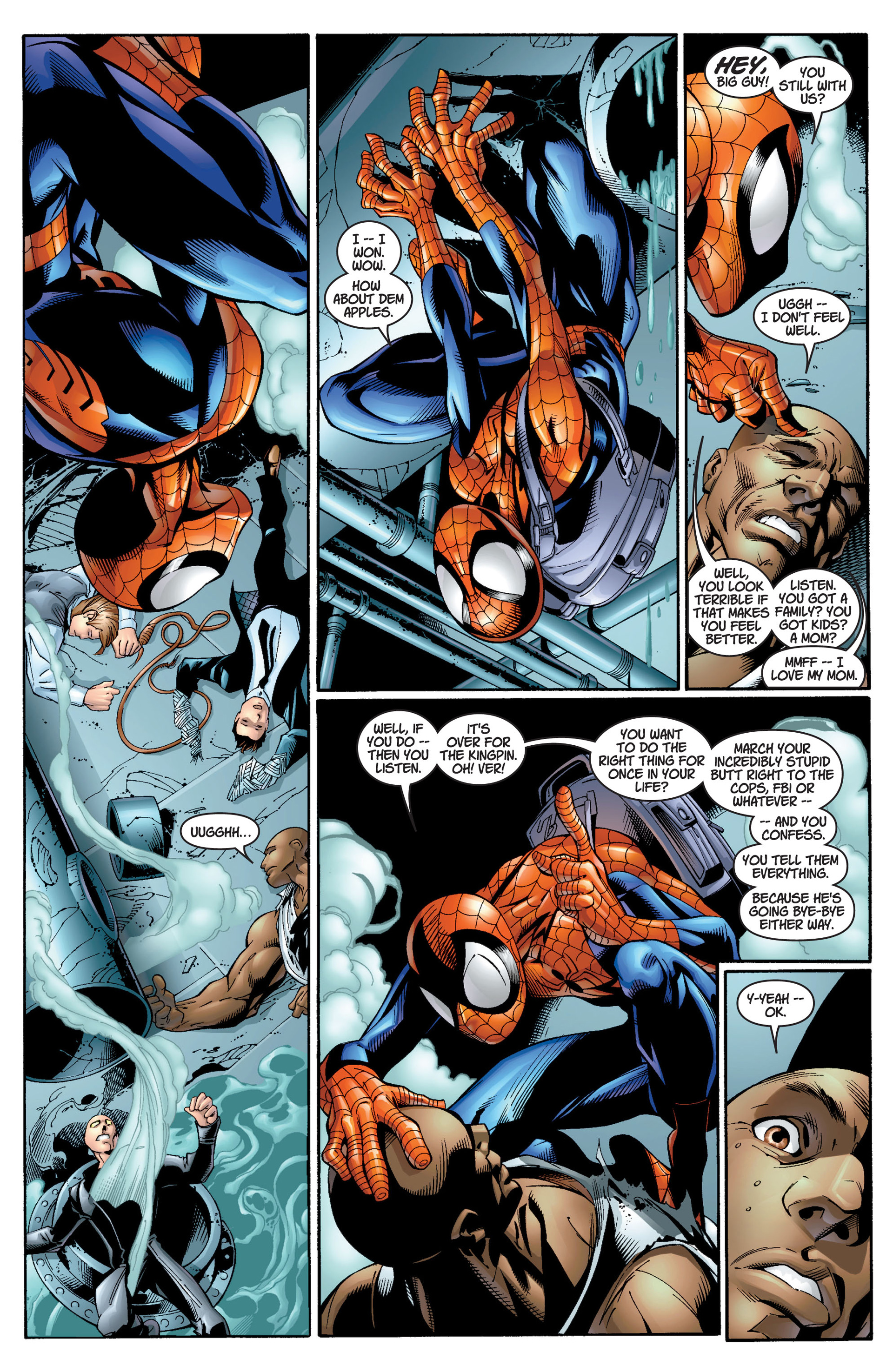 Read online Ultimate Spider-Man (2000) comic -  Issue #12 - 10