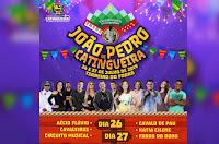 Confira a programação oficial do João Pedro de Catingueira