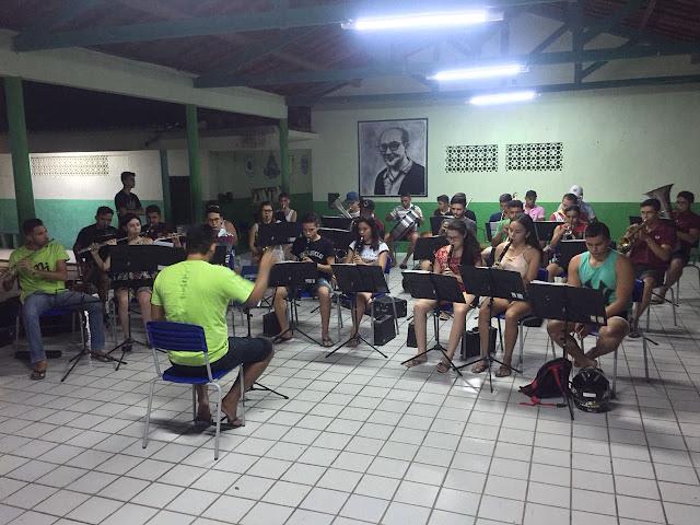 Banda de Música Joaquim Catunda Sobrinho retoma suas atividades de ensaios em Ipueiras