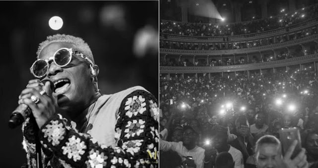 Wizkid Breaks The World Record As He Becomes The First African Artiste to Perform in a Sold Out Concert in UK (Photos/Video)