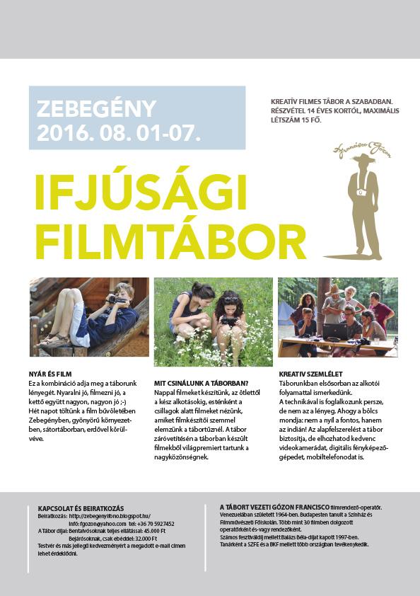 2016 Filmtábor