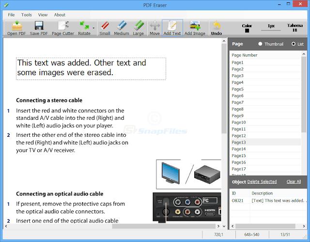 Cara Menghapus Teks PDF & Gambar