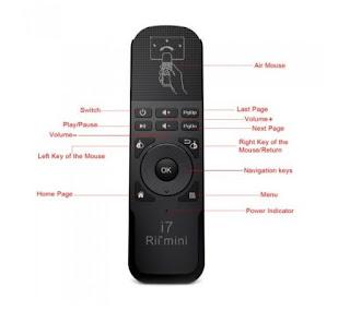 Telecomando Rii Mini i7