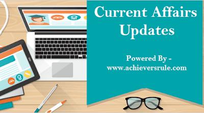 Current Affairs Update - 22 September 2017
