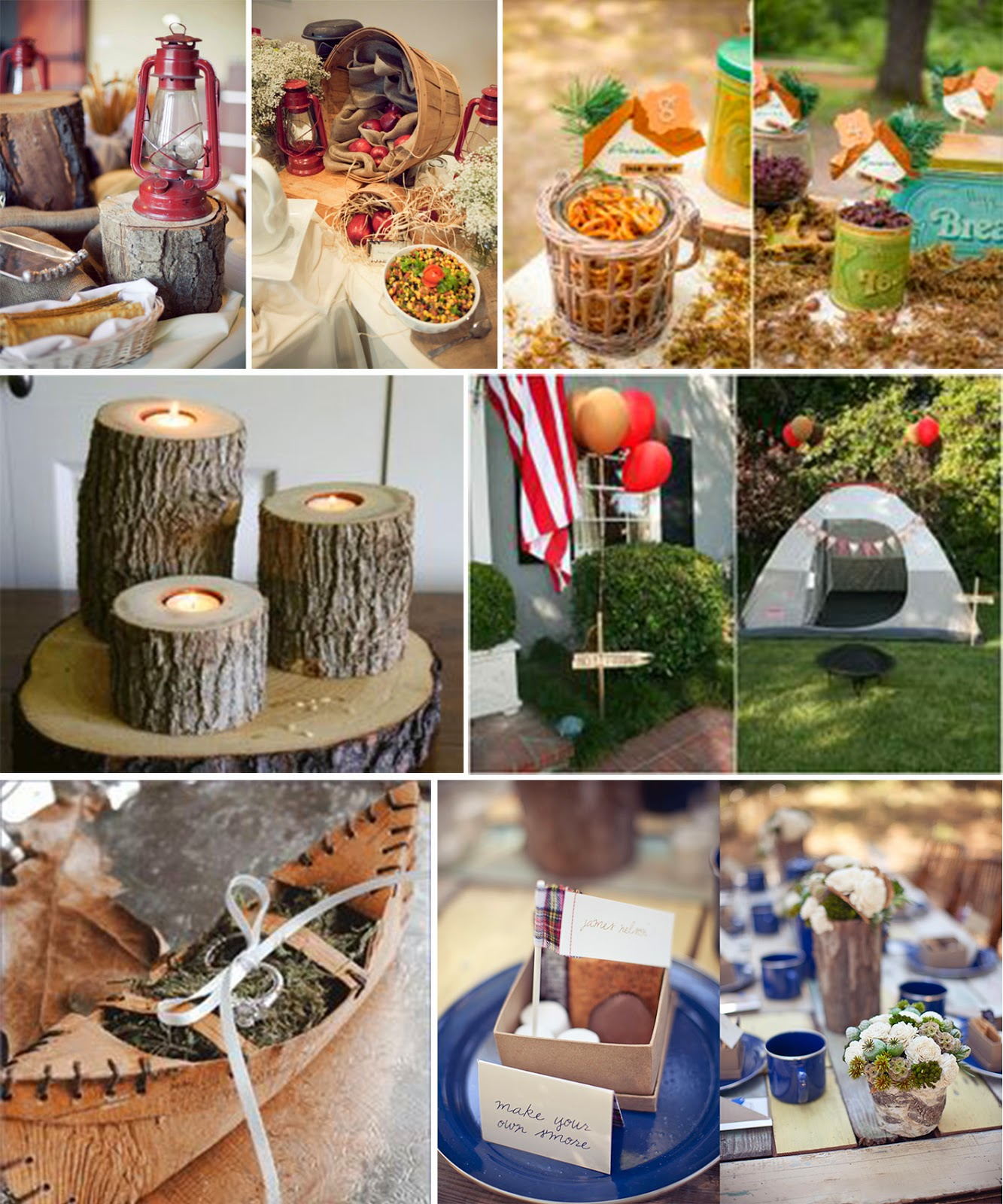 Camp Wedding Inspiration For Outdoorsy S