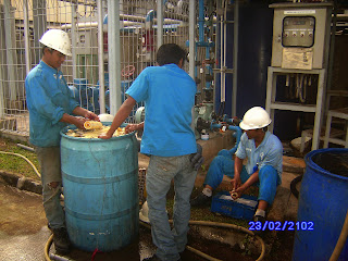 technical Support section Penjualan Bahan Kimia Water Treatment