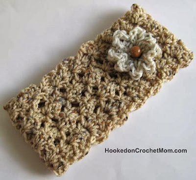 crocheted headband ear warmer