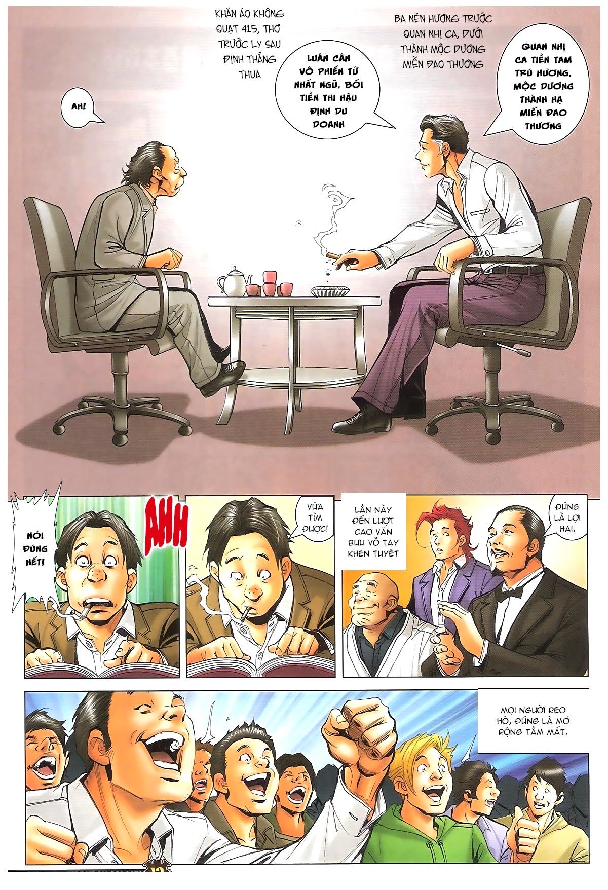 Người Trong Giang Hồ - Ngũ Hổ qui thiên - Chapter 1716: Đàm phán siêu cấp 2 - Pic 11