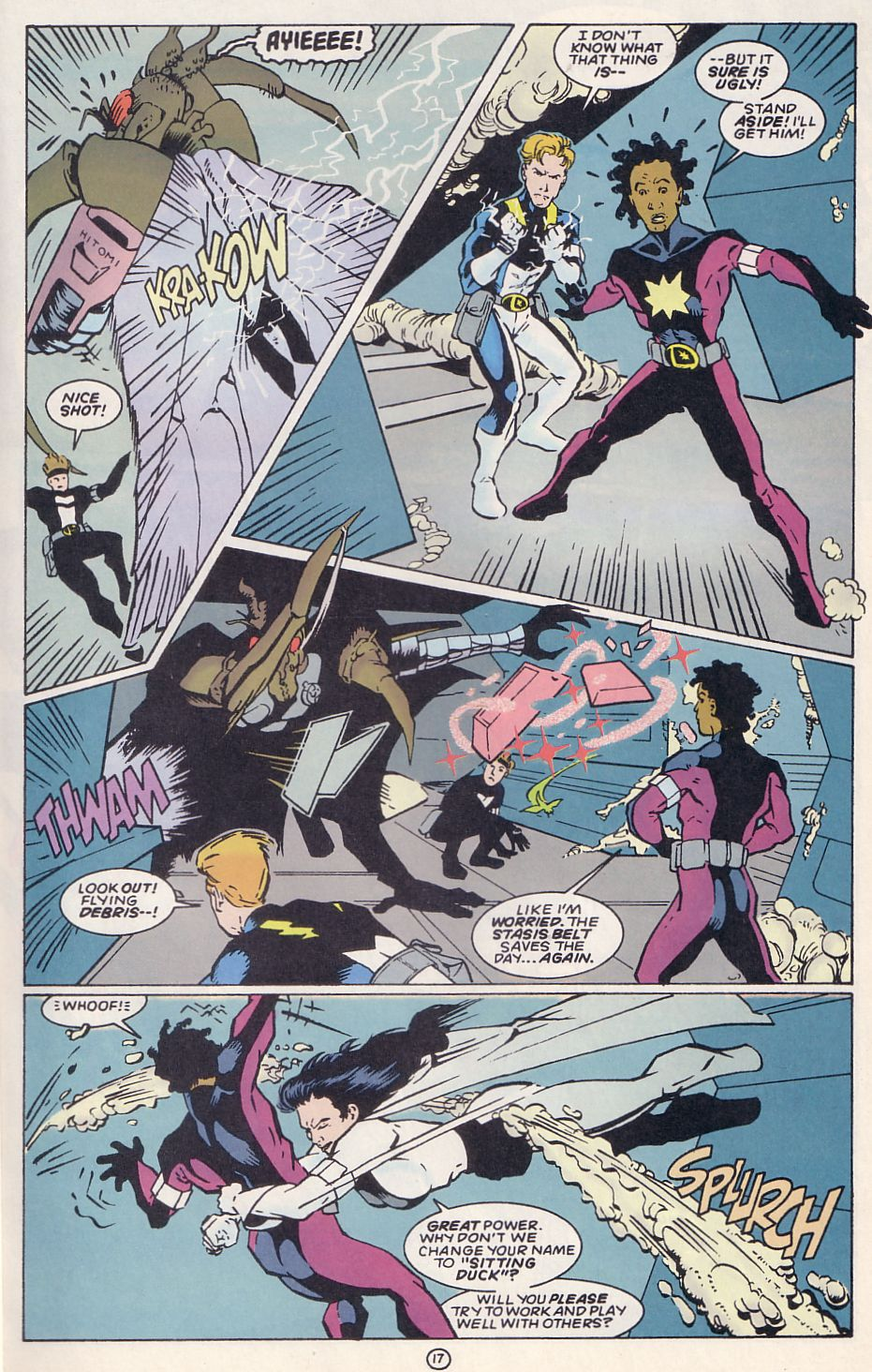 Legion of Super-Heroes (1989) 62 Page 17